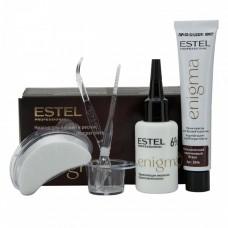Краска для бровей и ресниц Estel Professional Enigma тон коричневый