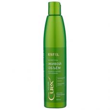 Шампунь для придания объема сухих и поврежденных волос Estel Professional Curex Volume Shampoo for Dry and Damaged Hair 300 мл