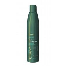 Шампунь для сухих, ослабленных и поврежденных волос Estel Professional Curex Vita Therapy Shampoo 300 мл