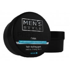 Резина для креативного моделирования прически Profi Style MEN'S STYLE для мужчин 80мл